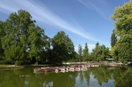 Paris en été Lac Daumesnil